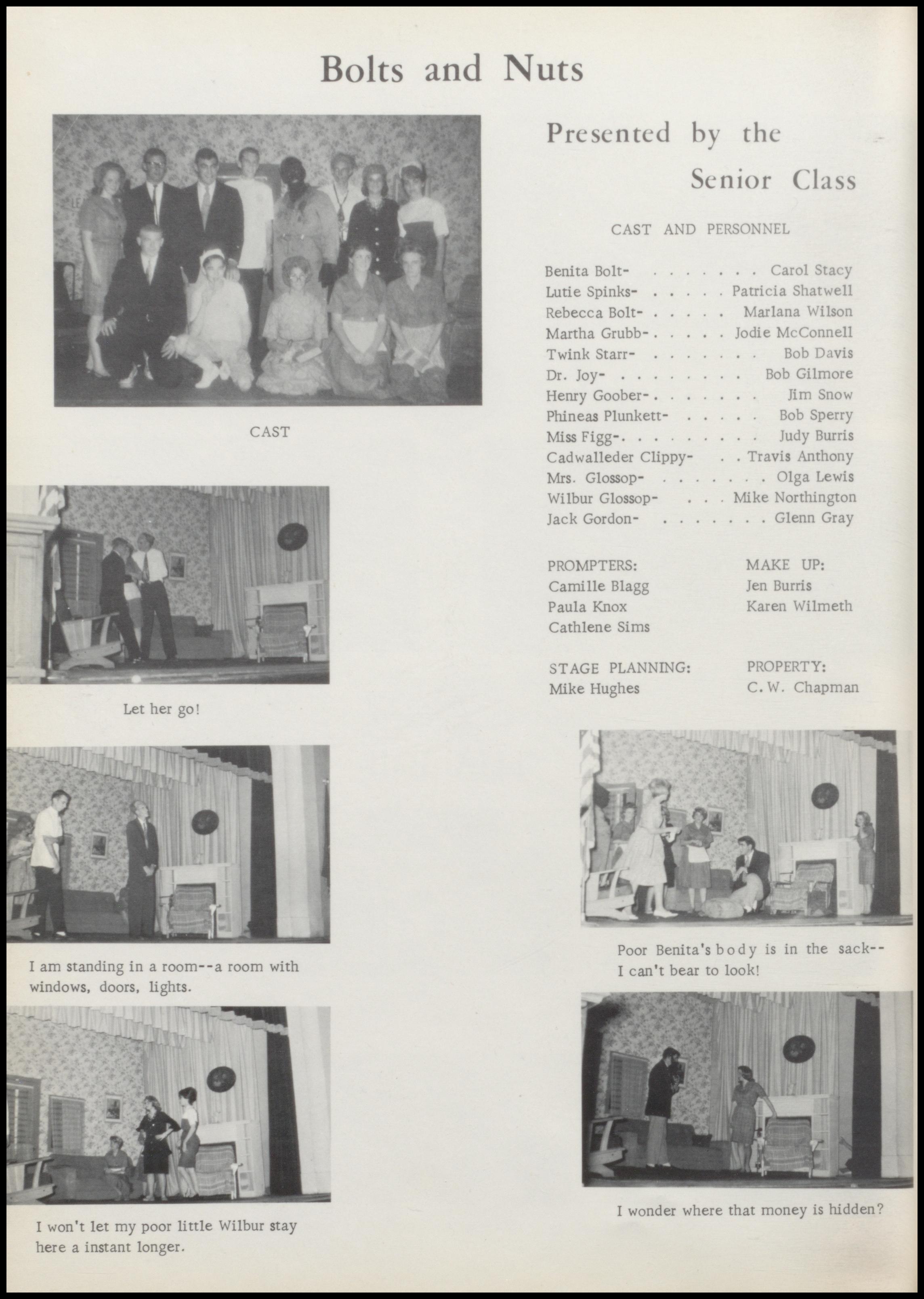Blanchard Yearbook 1963-1964