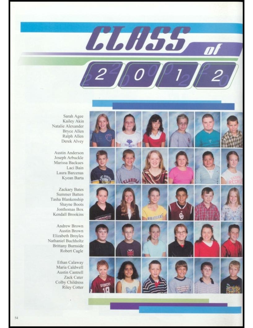 Blanchard Yearbook 2005-2006